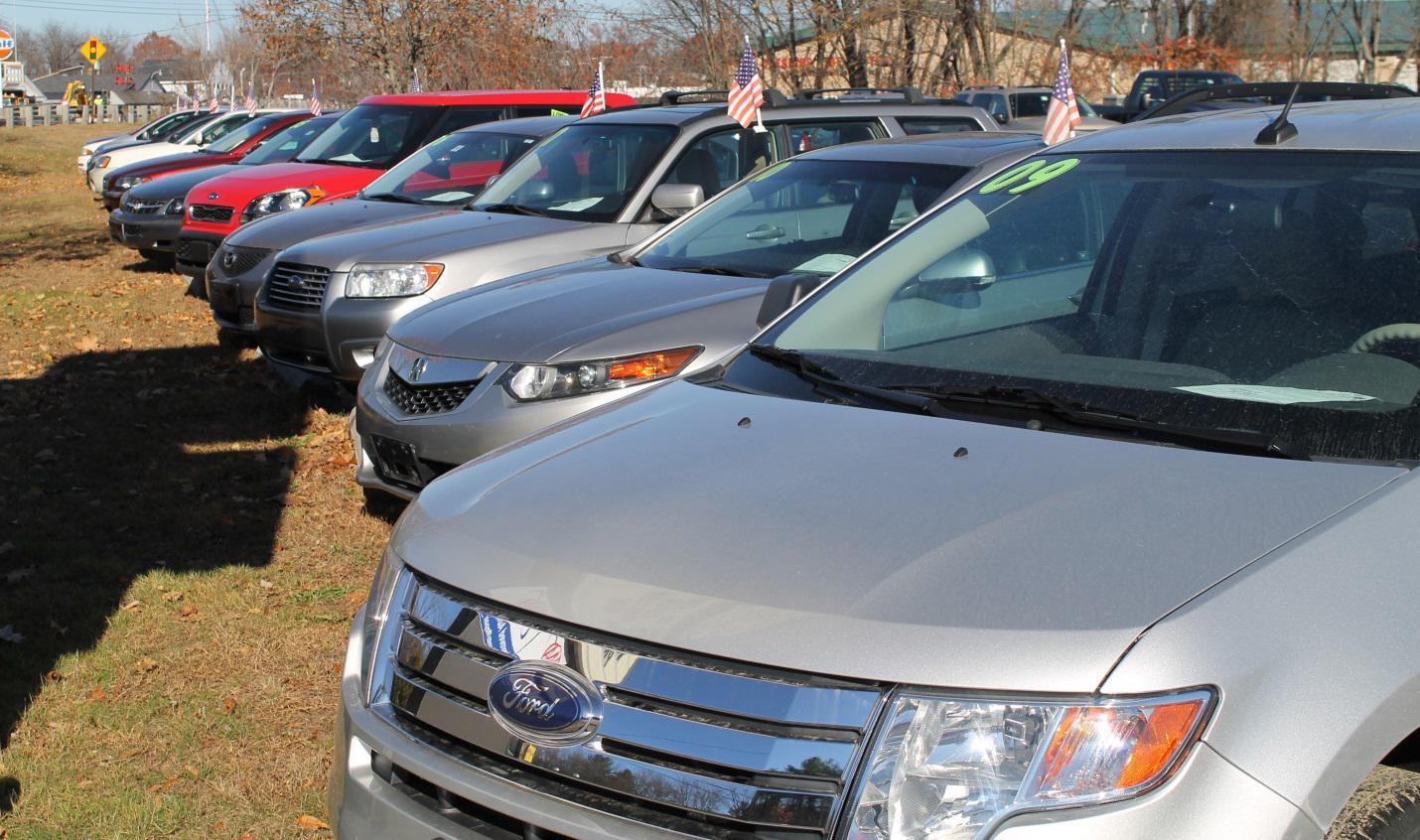 Pre owned car sales